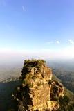 Montagne sur un horizon Photos libres de droits