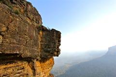 Montagne sur un horizon Photographie stock libre de droits