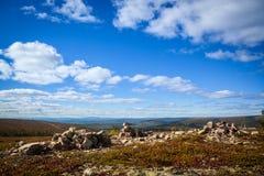 Montagne svedesi Fotografia Stock Libera da Diritti