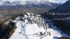 Montagne in Svizzera Fotografie Stock Libere da Diritti