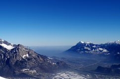 Montagne svizzere Fotografia Stock