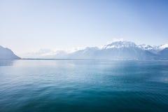 Montagne svizzere Fotografie Stock Libere da Diritti