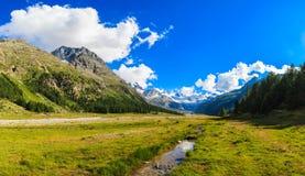 Montagne svizzere Fotografia Stock Libera da Diritti