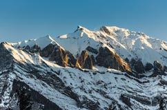 Montagne svizzere Fotografie Stock