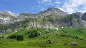 Montagne svizzere Immagini Stock