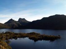 montagne Tasmanie de berceau Image stock