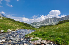 Montagne Tatra fotografie stock libere da diritti
