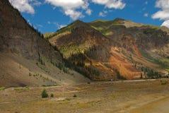 Montagne in tellururo, Colorado Fotografia Stock