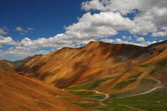 Montagne in tellururo, Colorado Fotografie Stock