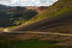 Montagne in tellururo, Colorado Fotografia Stock Libera da Diritti