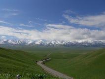 montagne tianshan Images libres de droits