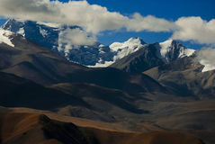 Montagne Tibet dell'Himalaya Immagine Stock