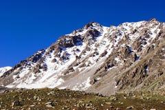 Montagne Tien Shan Fotografia Stock