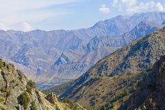 Montagne, Tien Shan occidentale, Fotografia Stock Libera da Diritti