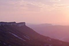 Montagne ucraine Fotografia Stock