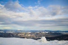 Montagne ucraine Fotografia Stock Libera da Diritti