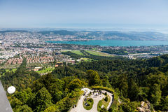 Montagne Uetliberg, Suisse de Zurich photos stock