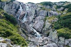 Montagne, una valle di cinque laghi, Polonia, Zakopane Immagini Stock Libere da Diritti