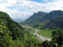 Montagne Vally Photographie stock libre de droits