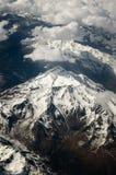 Montagne vedute da un aeroplano Fotografie Stock Libere da Diritti