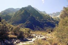 Montagne verdi Immagine Stock Libera da Diritti