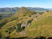 Montagne verte photo stock