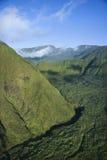 Montagne verte de Maui. Images libres de droits
