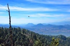Montagne vicino a Cerro Pelon, Messico Fotografie Stock Libere da Diritti