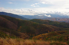 Montagne vicino a Lima, Montana Fotografie Stock
