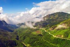 Montagne Vietnam photos libres de droits