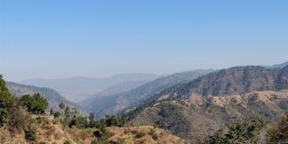 Montagne, vista, paesaggio immagini stock libere da diritti