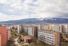 Montagne Vitosha de Sofia Photos stock
