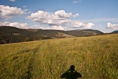 Montagne vrchy di Autumn Skorusinske in Slovacchia Fotografia Stock Libera da Diritti
