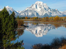 Montagne Wyoming di Teton Fotografia Stock Libera da Diritti
