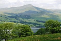 Montagnes écossaises Photographie stock