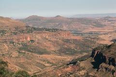 Montagnes éthiopiennes images stock