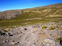 Montagnes éthiopiennes près de Lalibela Photo libre de droits