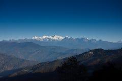 Montagnes 1 du Sikkim Image libre de droits