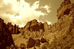 montagnes Photo libre de droits