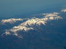 Montagnes aériennes Images libres de droits