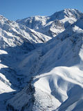 montagnes afghanes Photographie stock