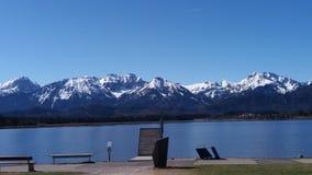 Montagnes allemandes et lac allemand photos stock