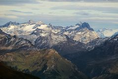 Montagnes alpestres Photo stock