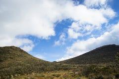 Montagnes andines Images libres de droits