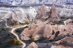Montagnes antiques d'automne de la Turquie Photos stock