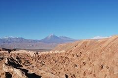 Montagnes au désert Photo libre de droits
