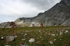 Montagnes au Kirghizistan photo libre de droits