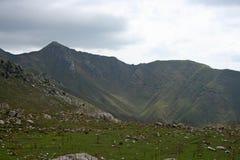 Montagnes au Kirghizistan photographie stock libre de droits