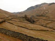 Montagnes au secteur de lac, Cumbria, Angleterre R-U Photographie stock