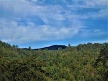 Montagnes au Tennessee Image libre de droits